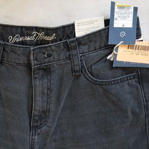 Universal Thread High Rise Straight Jeans  8/29R